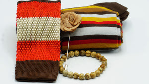 Earth Tones Combination - J.Cooper Classic Neckwear & Accessories