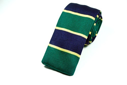Good Day Cotton Knit Tie - J.Cooper Classic Neckwear & Accessories
