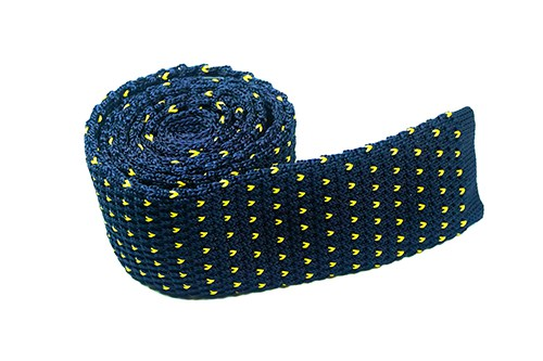 Pinnacle Pineapple Cotton Knit Tie - J.Cooper Classic Neckwear & Accessories
