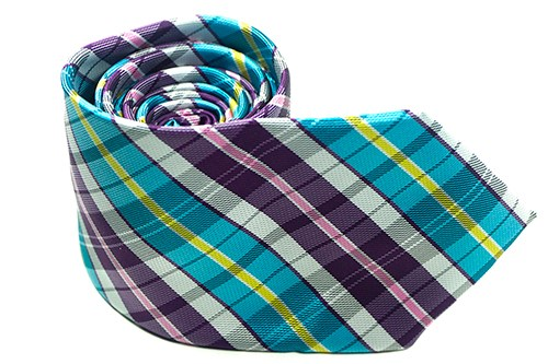 Spring Forward Plaid Necktie - J.Cooper Classic Neckwear & Accessories