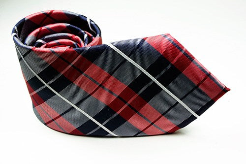 Paul Revere Plaid Necktie and Pocket Square - J.Cooper Classic Neckwear & Accessories