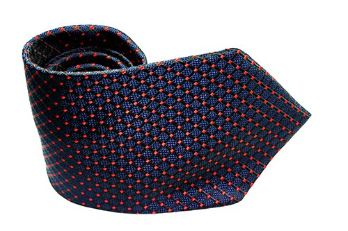 Blue Red Micro Dot - J.Cooper Classic Neckwear & Accessories