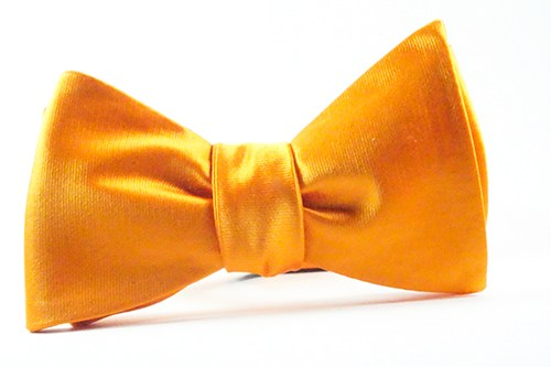 Orange Bow Tie and Pocket Square - J.Cooper Classic Neckwear & Accessories