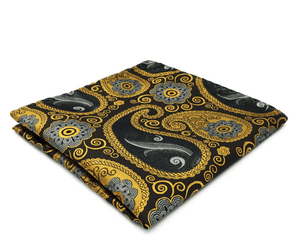 Paisley Pocket Square - J.Cooper Classic Neckwear & Accessories