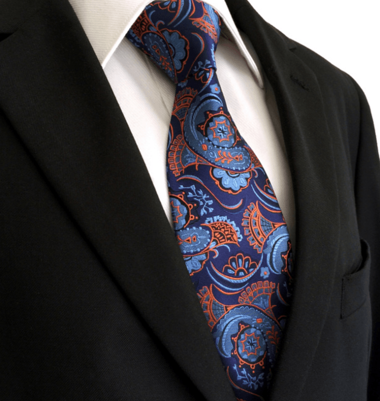 Shenlong Necktie and Pocket Square