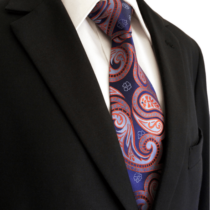 Bloom Necktie and Pocket Square - J.Cooper Classic Neckwear & Accessories