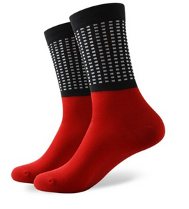Black Checker Red Cotton Socks - J.Cooper Classic Neckwear & Accessories