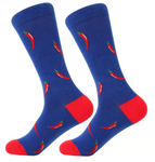 Hot Peppers Cotton Socks - J.Cooper Classic Neckwear & Accessories
