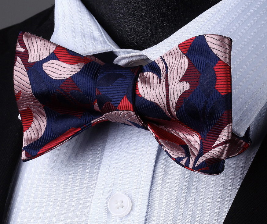 Bravo Wavy Bow Tie Pocket square - J.Cooper Classic Neckwear & Accessories