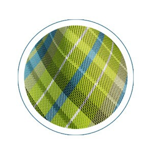 Spring Leaf Plaid Necktie