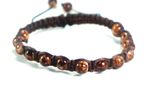 Boho Bohemian Beaded Shamballa Adjustable Bracelet - J.Cooper Classic Neckwear & Accessories