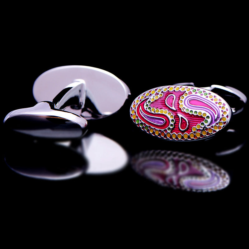 Pink French Cufflinks - J.Cooper Classic Neckwear & Accessories