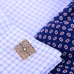 Gold Picasso French Cufflink - J.Cooper Classic Neckwear & Accessories