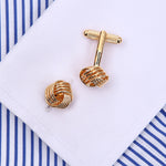 Gold Button Cufflinks - J.Cooper Classic Neckwear & Accessories