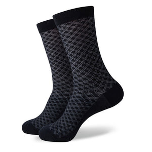 Men's Colorful Cotton Dress Socks - J.Cooper Classic Neckwear & Accessories