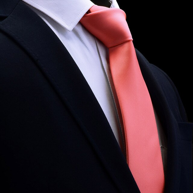 Classic Pink Mens Tie Silk 8cm Formal Necktie For Business - J.Cooper Classic Neckwear & Accessories