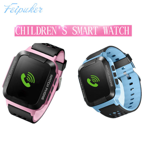 Feipuke Smart Watches for Children Kids GPS Watch for Apple Android Phone Smart Baby Watch Smartwatch Children Smart Electronics