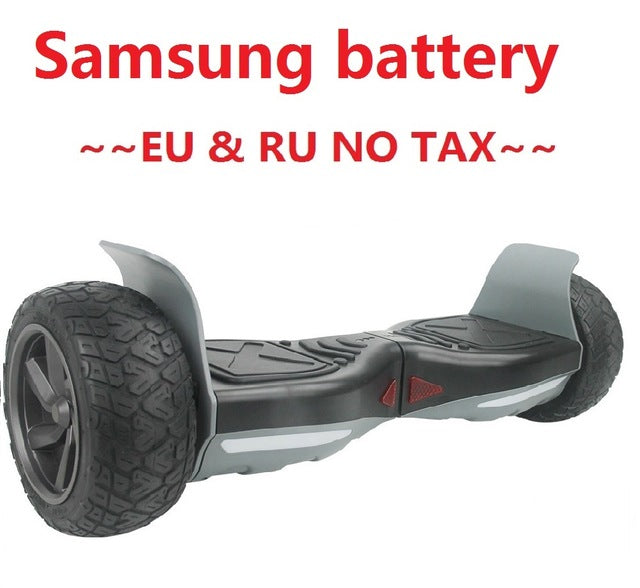 Hoverboard Hummer Samsung battery Electric self balancing scooter
