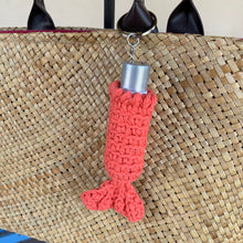 mermaid chapstick holder