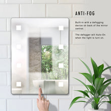 Dimmable LED Lighted Mirror 24 inch x 32 inch