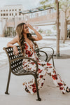 Rose Printed Jumpsuit