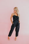 Women's Ruffled Jumpsuit