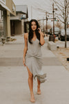Gray Knot Dress
