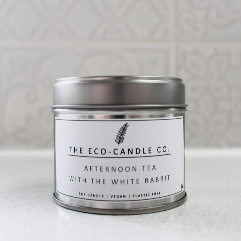 Afternoon Tea With the White Rabbit Soy Candle 100g
