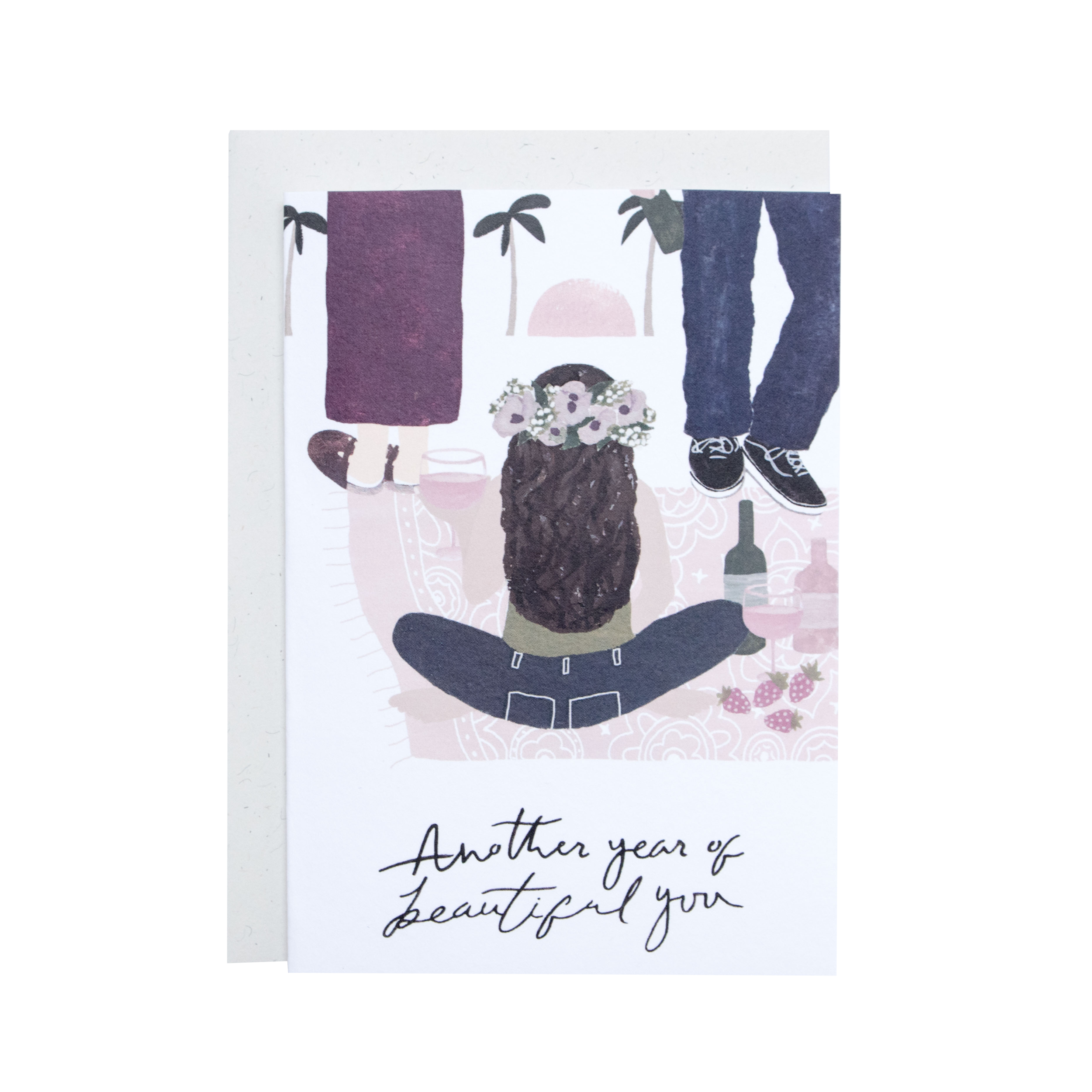 'Another Year' Greetings Card