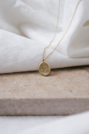 The 'Gardener' Necklace Gold Filled