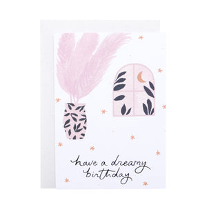 'Have a Dreamy Birthday' Greetings Card
