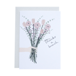 'Thanks a Bunch' Greetings Card