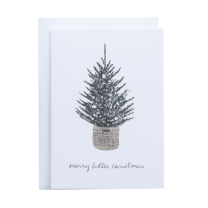 'Merry Little Christmas' Greetings Card