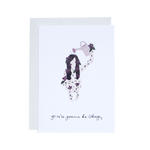 'You're Gonna Be Okay' Greetings Card