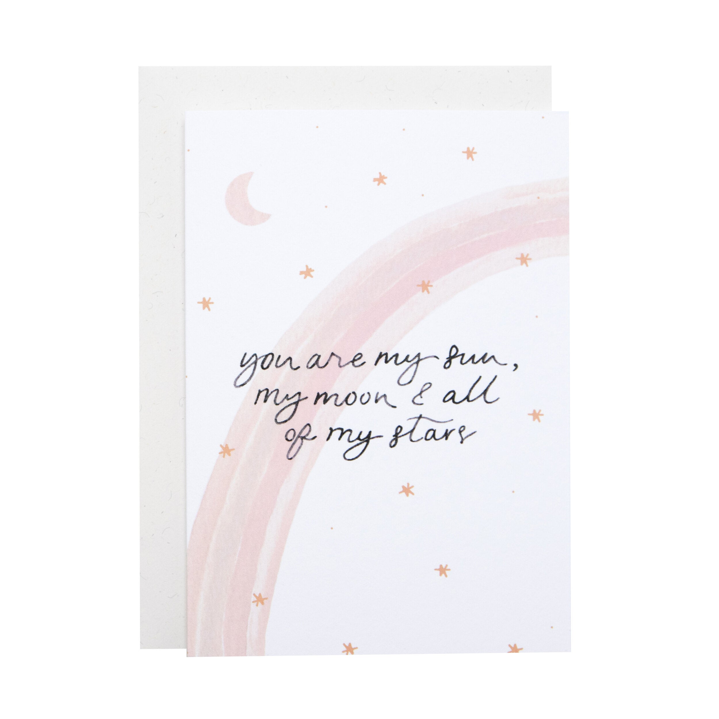 'You are my sun...' Greetings Card