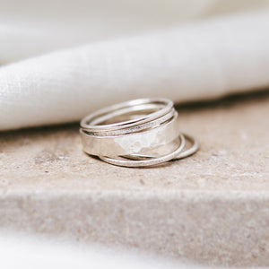'Delphine' Stacking Ring Set