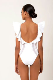 MARIPOSA RUFFLED SWIMSUIT - LèMert