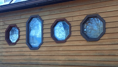 decorative windows add interesting element to your home design