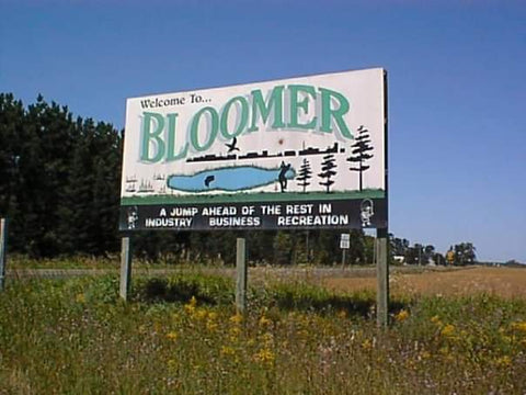 Bloomer WI Sign