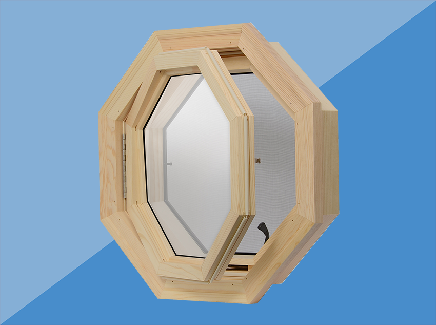 window that opens to add ventilation