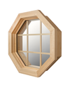 Large Cabin Light Octagon Window Right Side View