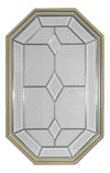 20 x 34 Dominican Natural Poly Sand Stationary Octagon Window