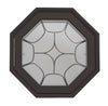 Star Light Poly Bronze Venting Octagon Window Clear IG Hinged Left