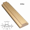 O-Pine Bar Profile with Dimensions