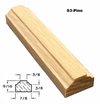 S3-Pine Bar Profile with Dimensions