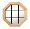 Cabin Light Octagon Window Clear IG Bronze Internal Grille