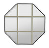 Octagon Clear IG Glass With Sand Grille In Glass