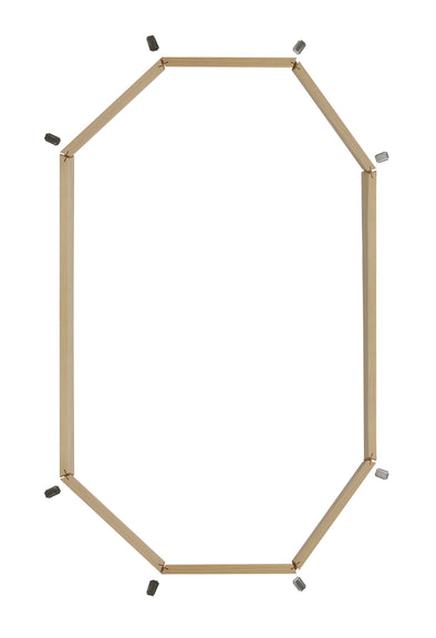 "2"" Pine Jamb Extension for 20 x 34 Poly Stationary Octagon"
