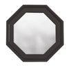 Rambler Breeze Bronze Poly Venting Octagon Obscure IG Glass Hinged Left