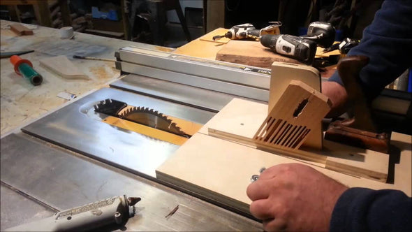 Set Up Table Saw